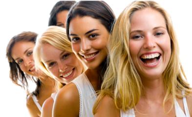 Happy Hair Salon Clients